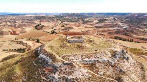 Restos del Castillo de Hita y la Guerra Civil