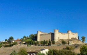 Castillo de Maqueda en la provincia de Toledo