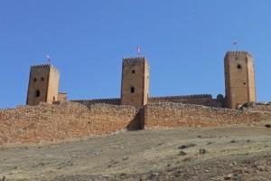 Torres restauradas del Castillo de Molina de Aragón
