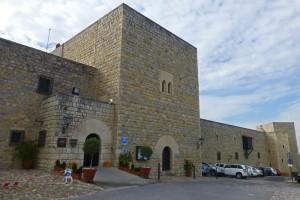 Alcázar Viejo, actual Parador Nacional de Turismo de Jaén