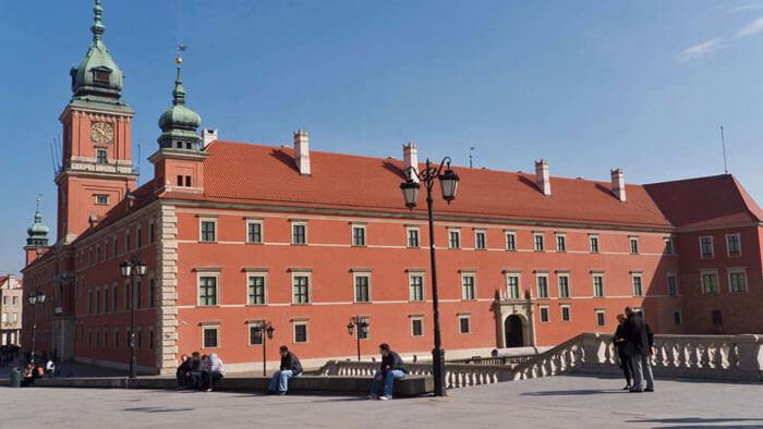 Castillo Real de Varsovia, el principal monumento de la ciudad