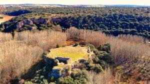 Castillo de Rochafrida, uno de los dos castillos dentro del Parque Natural