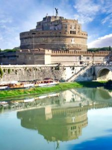 Castillo de Sant'Angelo junto al Tíber