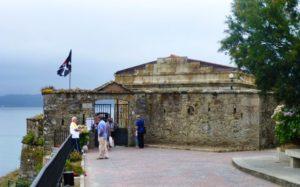 Entrada al Castillo de San Carlos en Finisterre