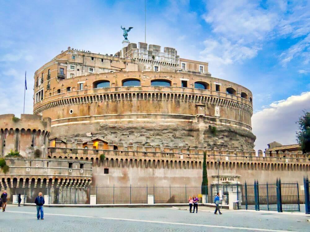 Castillo De Sant Angelo En Roma Historia Interior Terraza Tour