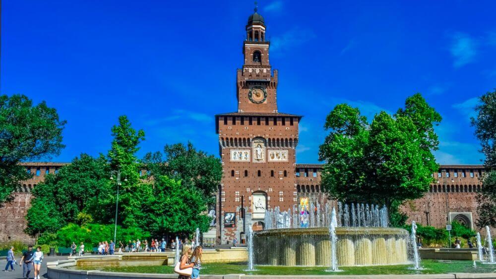 Castillo Sforzesco, una visita imprescindible de Milán
