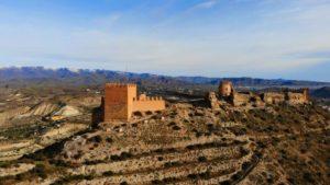 Castillo de Tabernas de origen árabe