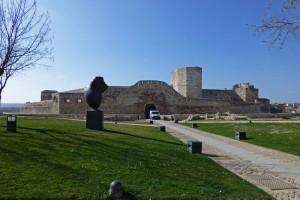 Castillo de Zamora, en la actualidad alberga el Museo de Baltasar Lobo