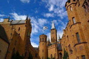 Entrada al Castillo de Hohenzollern