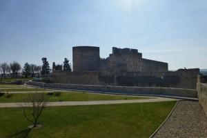 Castillo de Zamora junto a la muralla medieval