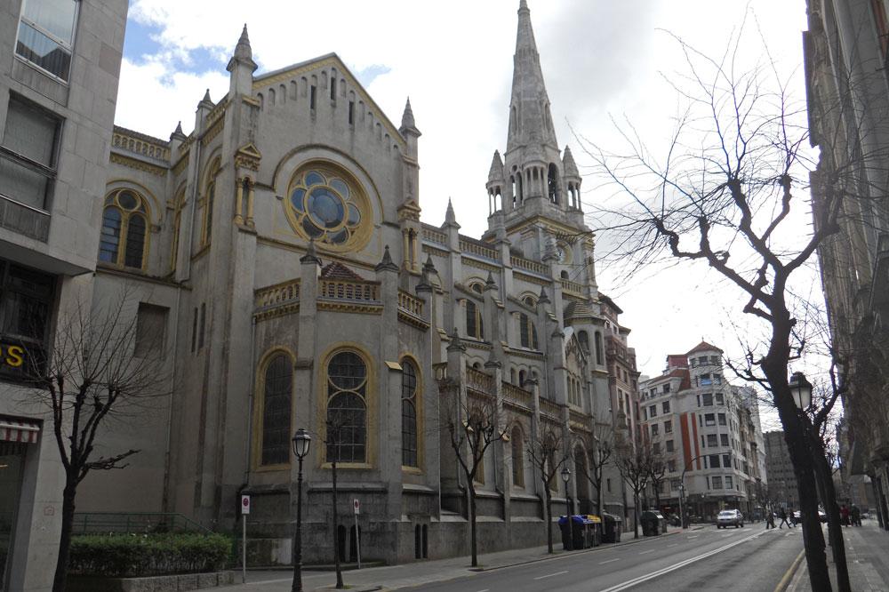 Edificios religiosos de Bilbao