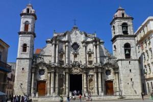 Catedral de San Cristóbal, el edificio religioso más importante de La Habana