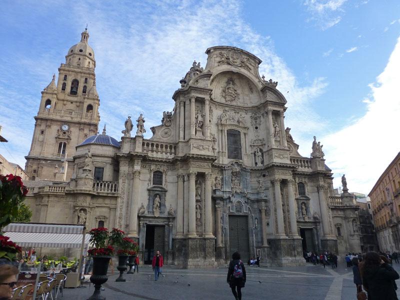 Catedral de Murcia, el edificio más emblemático de la ciudad, historia de Murcia