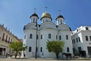 Catedral Ortodoxa Rusa Nuestra Señora de Kazán, uno de los edificio religiosos más visitados de La Habana