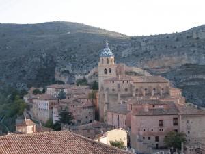 Catedral del Salvador, el principal monumento religioso de Albarracín