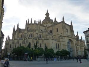 Catedral de Segovia, conocida como la Dama de las Catedrales