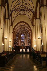 Interior de la Catedral de Varsovia