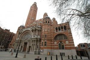 Fachada de la Catedral de Westminster