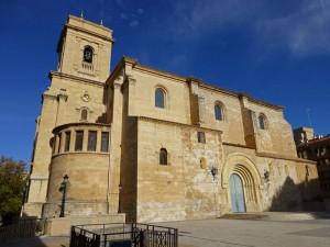 Fachada lateral de la Catedral de Albacete