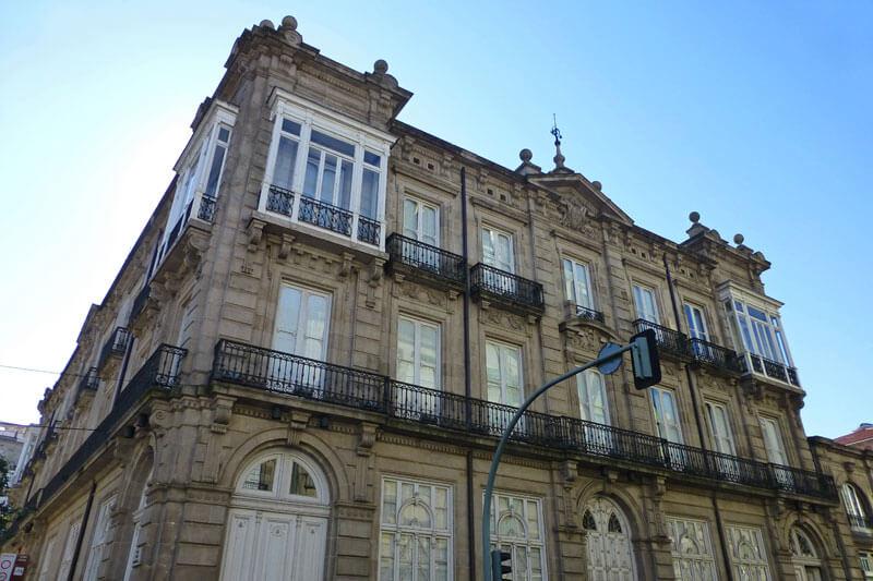 Centro Cultural Marcos Valcárcel, uno de los museos de Orense
