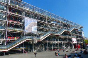 Centro Pompidou, el tercero de los museos de arte de París