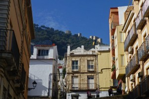 Jaén a los pies del Cerro de Santa Catalina