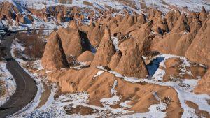 Chimeneas de hada típicas de la Capadocia