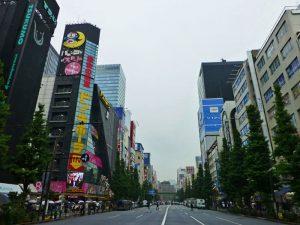 Chuo Dori, calle principal de Akihabara