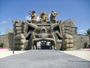Entrada al Parque Temático Cinecittà World en Roma