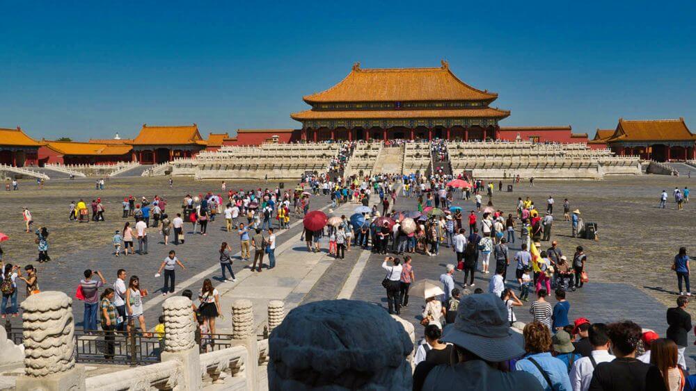Ciudad Prohibida de Pekín, principal sitio de interés de la capital de China