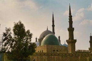 Cúpula de la Mezquita de Alabastro en la Ciudadela de Saladino