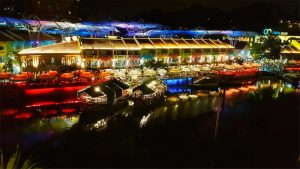 Clarke Quay, el epicentro de la vida nocturna de Singapur