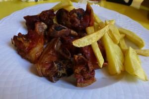 Cochifrito, plato típico de La Vera