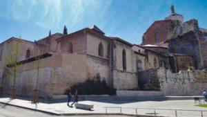 Colegiata de Santa María la Mayor anexa a la Catedral de Valladolid