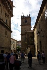 Torre del Colegio de Fonseca de Santiago de Compostela