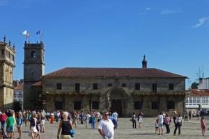 Colegio de San Jerónimo en la Plaza del Obradoiro, qué ver en Santiago de Compostela