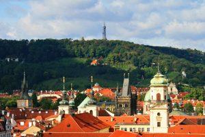 Praga a los pies del Monte Petřín