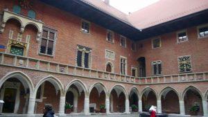 Collegium Maius de la Universidad Jagellónica de Cracovia