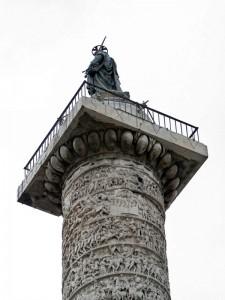 San Pablo en la Columna de Marco Aurelio