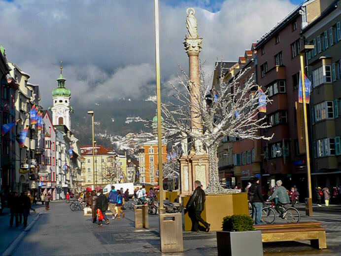 Tarjeta turística de Innsbruck