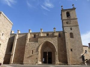 Concatedral de Santa María de Cáceres, aloja el Museo Catedralicio