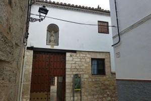 Entrada al Real Monasterio de Santa Clara en Jaén