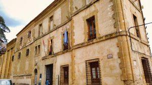 Fachada principal del Monasterio de la Merced