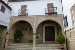 Patio del Real Monasterio de Santa Clara en Jaén