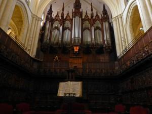 Coro de la Catedral de Murcia