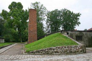 Crematorio de Auschwitz I, el único que se mantiene en pie
