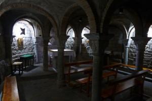 Cripta de la Iglesia de Santa María de Aínsa