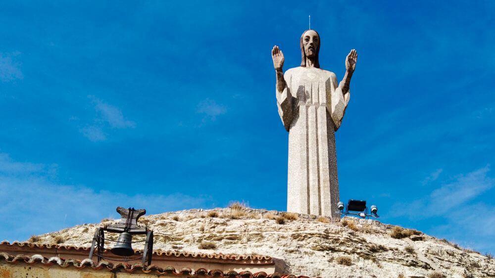 Cristo del Otero, escenario de la Romería de Santo Toribio