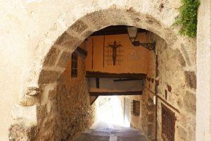 Cristo del Pasadizo en Cuenca