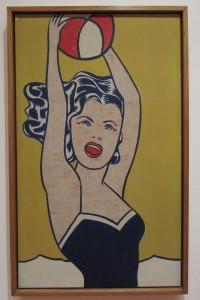 Cuadro de Roy Lichtenstein en el MOMA